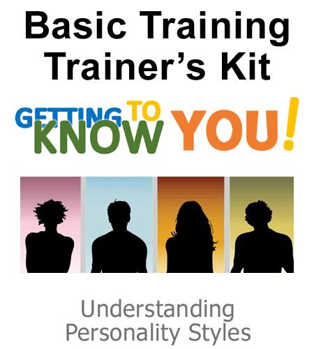 Personality Training Kit by Mary Miscisin